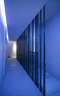 Blanco Urban Spa in Italy, lighting by Davide Groppi _