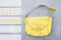 free pattern Little Messenger - delia creates