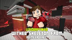 Liticraft #42 Wither skeleton farm (primera part) - Minecraft 1.12 en català