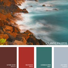 11 Beautiful Color Palettes Inspired ByNature — Atlantic Palette (all paint is Behr) [Hazy Skies looks nice (too gloomy for a bedroom, though?).] Water, Journal, Beaches, Cabo, Colors, Homemade Bath Salts, Photography Tips, Landscape Photography, Beauty