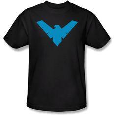 Superman Tees Men's Batman/Nightwing Symbol Tee - List price: $39.99 Price: $14.59  #Trevco