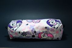 Boxy Makeup Bag - My Little Pony Twilight Sparkle, Pinkie Pie, and Rainbow Dash MLP Zipper - Pencil Pouch for $10 +s&h by LittlePeachFuzz on Etsy