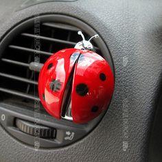 Ladybug car perfume Car Vent Perfume Cream Decorative Air Freshener