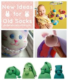Beyond Sock Monkeys: 10 Toys to Make with Old Socks