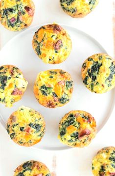 Mini pumpkin and spinach frittatas -- Low FODMAP Recipe and Gluten Free Recipe #lowfodmaprecipe #glutenfreerecipe #lowfodmap #glutenfree