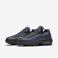 hot sale online 4061c 34713 Cheap Nike Air Max 95 Essential Anthracite Binary Blue Cool Grey Paramount  Blue Sale