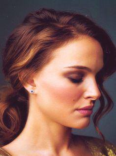 Natalie Portman // pretty // hair // makeup // natural // gorgeous