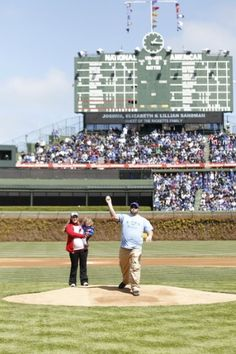 One family's Cubs dream comes true.  The story of how one family got the chance to throw out the first pitch at Wrigley Field on April 5, 2012.  bit.ly/JY23sM