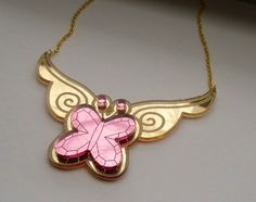 Fluttershy - Elements of Harmony: Kindness Cosplay Prop Necklace on Etsy, $22.00