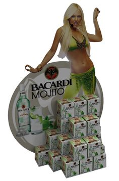 POS display for BACARDi MOJITO