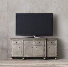 """Annecy Metal-Wrapped Panel 68"""" Media Console"""