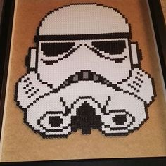 Stormtrooper - Star Wars hama beads by Jennifer