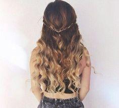 curly hair styles for long hair