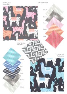 Llama Linen Fabric Curtain Upholstery Craft Quilting Patchwork Cushion LAMA