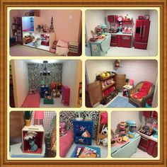 American girl dollhouse. Follow my dolls house ideas on pinterest for more inspiration
