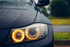 Rings by michalkulesza on Creative Market #car #lights #bmw