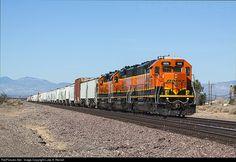 RailPictures.Net Photo: BNSF 1574 BNSF Railway SD40-2R at Boron, California by Luke A. Renish