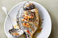 Grilled Recipes: Grilled sea bream recipe