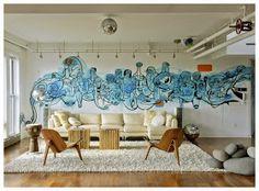 Ella es Fashion: Graffiti en la Casa