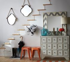 Embrace One-of-a-Kind Designs to Elevate Your Entryway via @Malinda L Home Only Better #HomeGoodsHappy