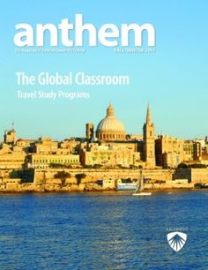 Anthem is the official alumni publication of Ambrose University College, with articles expressing the thoughts and opinions of faculty members on topics of interest to the constituency of Ambrose. www.ambrose.edu