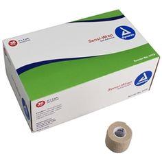 """Sensi-Wrap Self-Adherent Bandage - 2"""" x 5 yd - Tan - 36/Pack"""