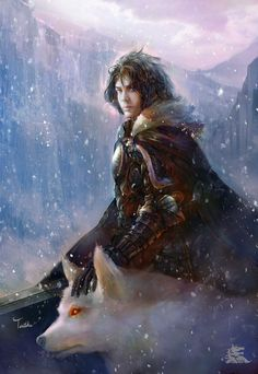 Jon Snow by TeiIku.deviantart.com on @deviantART