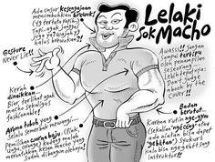 Lelaki sok macho