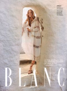 Mes Demoiselles... Paris • Plenty Dress • GRAZIA France • August 2016 Mes Demoiselles...Paris – Robe Plenty en coton blanc Plumetis et dentelle ivoire. Crochet and lace-trimmed Swiss-dot white cotton ''Plenty'' dress with romantic ivory embroideries | SS 2016