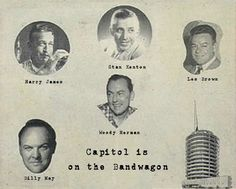 By the late 1950's, Capitol Records was still going strong with it's roster of name orchestra's;  as this advertisement proves