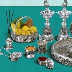 Silver Lamp, Silver Trays, Silver Pearls, Silver Bangles, Silver Pooja Items, Pooja Room Door Design, Silver Furniture, Silver Ornaments, Silver Accessories