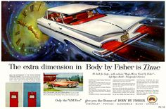 """1959 General Motors - """"Body by Fisher"""""""