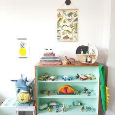 Kids rooms - Dino raw print