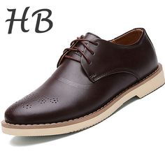 edd835d0a Hight Quality Genuine Leather Casual Shoes Men 2016 Spring Fashion Flat  Shoes Breathable Oxfords Lace up Outdoor Mens Shoes