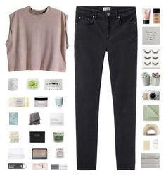 """""""❀ you have fallen from the sky"""" by friendly-fires ❤ liked on Polyvore featuring H&M, Acne Studios, Crate and Barrel, philosophy, Pantone, From the Road, NARS Cosmetics, Frette, Laura Mercier and Various Projects"""