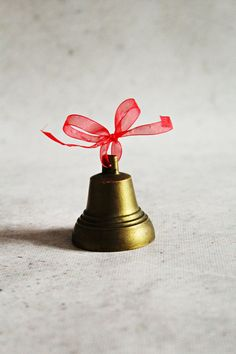 Vintage bell brass bell Christmas bell by MagicVintageShop on Etsy