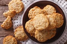 These sweet cookies with hints of brown sugar, oatmeal and vanilla. Stir chocolate chips into dough for even more amazing flavor! Apple Recipe Low Sugar, Apple Recipes, Ww Recipes, Oatmeal Applesauce Cookies, Brown Sugar Oatmeal, Easy Cookie Recipes, Easy Desserts, Dessert Recipes, Cookie Ideas