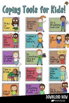 Counseling Activities, Therapy Activities, Learning Activities, Kids Learning, Activities For Kids, Calming Activities, Therapy Worksheets, Mindfulness Activities, Behavior Management
