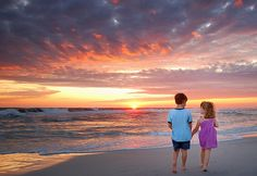 No matter how old you are a walk on the beach is pure fun!