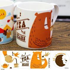 Tea and Bears mug