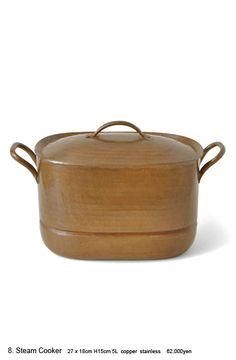 Hand-Hammered Copper Kettles, Pots And Pans at JURGEN LEHL's online shop