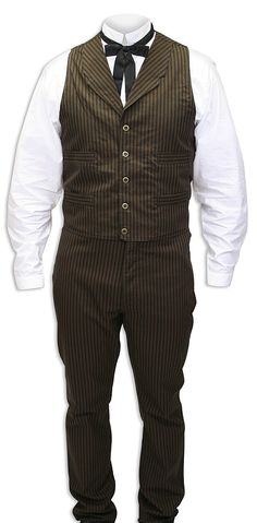 e5d424c21e6 Dress up your workaday style with this striped four pocket vest.Constructed  of durable cotton