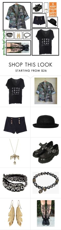"""Grav3yardgirl Inspired"" by synklair ❤ liked on Polyvore featuring Topshop, LowLuv, Underground and Lindi Kingi"