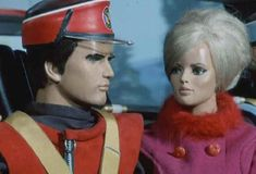 Captain Scarlet with Destiny Angel