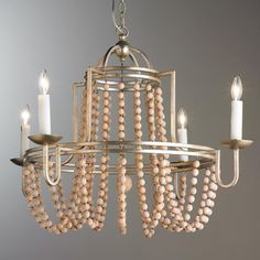 Monticello Circular Iron Frame 4-Light Chandelier