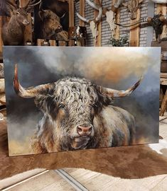Find eye-catching animal wall art ready to transform your home. With a variety of options and free local delivery, you don't want to miss out. Highland Cow Art, Highland Cattle, Cow Wall Art, Elephant Poster, Animal Paintings, Pastel Paintings, Cute Animal Pictures, Illustrations, Color Pop
