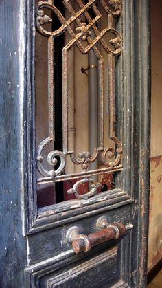 Ajaccio Ajaccio Corsica, Door Knockers, Candle Sconces, France, Door Handles, Wall Lights, Hardware, Windows, Ageing