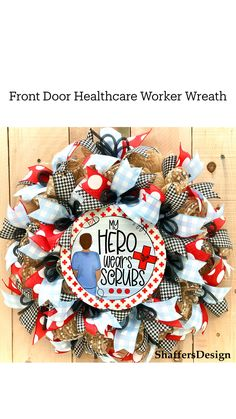Creative Gift Baskets, Creative Box, Creative Gifts, Wreath Crafts, Diy Wreath, Diy Crafts, Decorating Ideas, Craft Ideas, Nurses Week