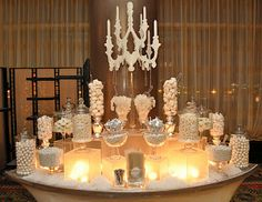 White Candy Table