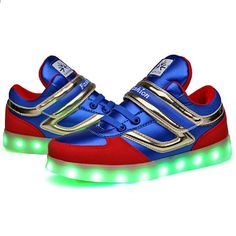 84c8199ae1f2 Glödande sneakers Ljusa barn Boys ledde Skor USB laddningsbara för Kids Led  Lights Shoes 11 flash lägen julklappar